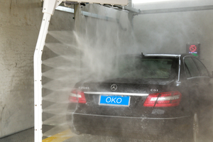 Automatic Car Wash Tunnel Machine