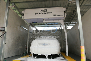 Car Wash with Shampoo Machine